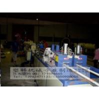 PVC一模双出线管生产线设备,PVC一模出四线管机械设备,PVC一模双腔挤出设备