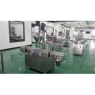 全自动粉末灌装机-粉剂灌装封罐机-行业领先产品