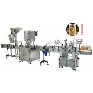 南充干果罐装生产线/花生、爆米花全自动包装生产线
