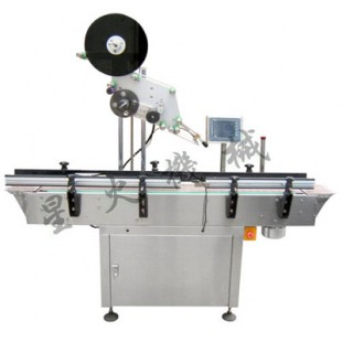 上平面不干胶自动贴标机/全自动上下面贴标机-广州贴标机厂家