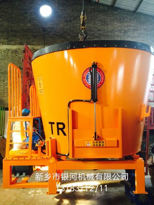 固定立式9立方TMR饲料搅拌机