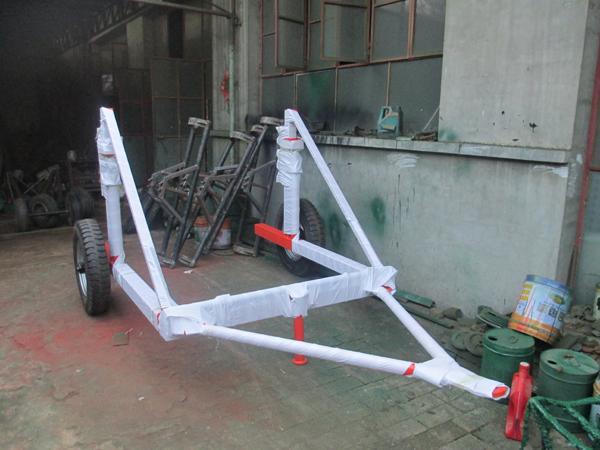 多功能电缆拖车 带柴油机电缆炮车 液压电缆拖车