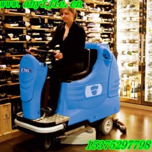 大面积地面清洁设备就选安徽易洁C65驾驶式洗地机