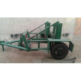 3T5T8T10T大型钢线车 液压电缆盘拖车炮车