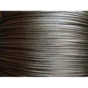 实力厂家供应 304不锈钢丝绳 包胶 耐磨损316L不锈钢钢丝绳