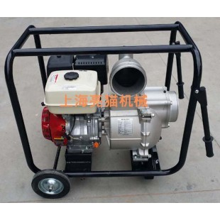 亮猫6寸发动机GX390汽油污水泵,