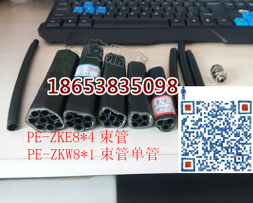 晋城PE-ZKW8*8阻燃矿用束管量大从优