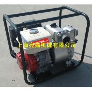 亮猫3寸本田GX240汽油动力泥浆泵,重力污水泵,杂质泵