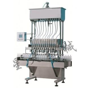 花生油灌装机-全自动自流式液体灌装机-液体自流式灌装机