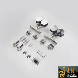批量供应安装简易不锈钢滑轮移门静音滑轮17C