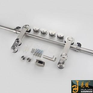 现货供应高级不锈钢玻璃移门滑门吊轮