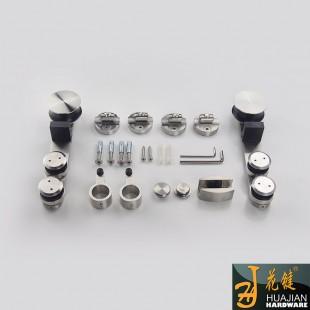大量批发精工打造无框架玻璃移门不锈钢吊轮02A耐磨不锈钢滑轮套装