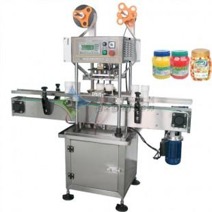 全自动双头广口瓶封口机-封口/罐机设备厂家