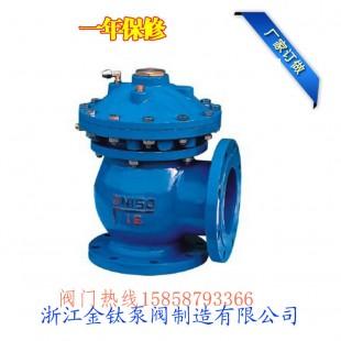 珠海液动快开排泥阀JM744X/JM644X液动快开排泥阀