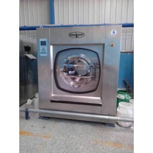 济南市70公斤二手水洗机转让航星品牌洗布草用二手工业洗衣机
