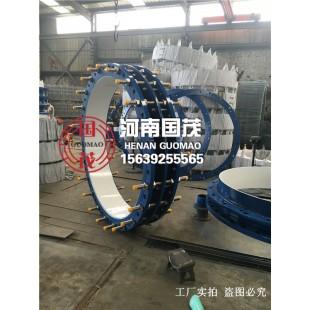 冷冻工程双法兰限位伸缩接头厂家生产结构