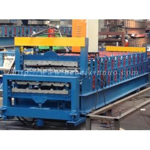上海鑫诺压瓦机厂家直销双层彩钢瓦机