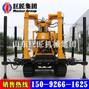华巨直销XYD-200履带式探矿钻机 200米能取岩芯的钻机品质优