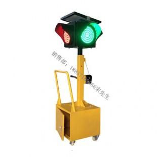 太阳能移动红绿灯 led交通信号灯价格