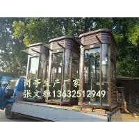 深圳钢结构岗亭厂家 钢结构轻工房屋 钢结构岗亭 形象岗亭