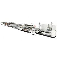 新型PP塑料工程模板生产线