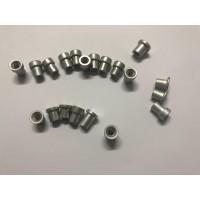 家具螺母 T型铝螺母 焊接用 M8 M6规格 焊管帽 户外专用编藤椅螺母 鼎兴