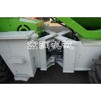0.8方装载机式混凝土搅拌车 装载式自上料混凝土搅拌车