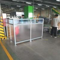 设备隔断造作机械隔断焊接机器人围栏