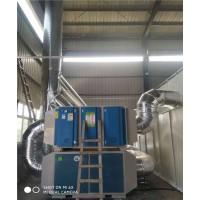 广东环保uv光氧催化移动伸缩房汽车烤漆房设备可加工定制