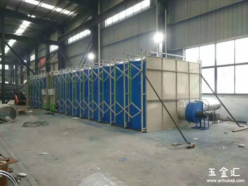 河南移动伸缩房设备汽车烤漆房uv光氧催化设备伟航制造品质保证
