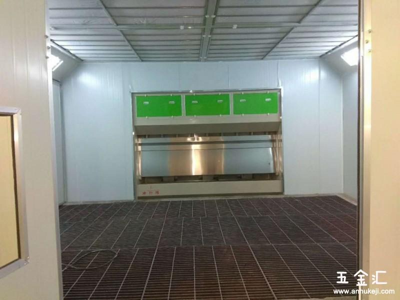 安徽环保无泵水幕设备移动伸缩房活性碳箱设备可加工定制