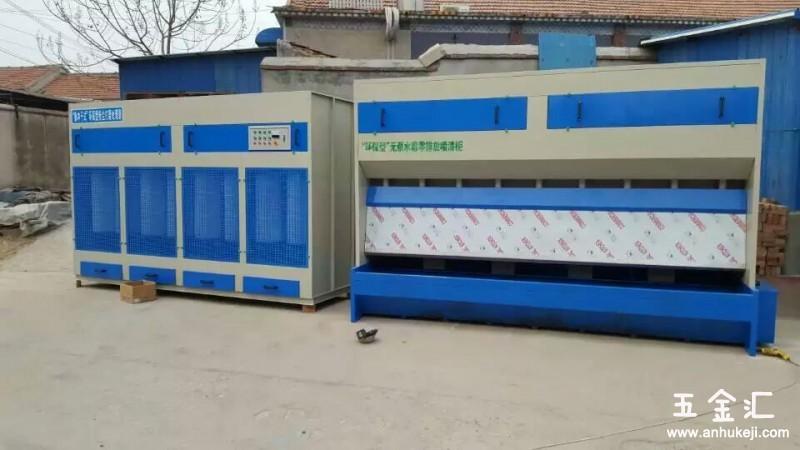湖南环保无泵水幕设备汽车烤漆房粉末回收机设备品质保证