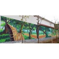 江西文化墙彩绘手绘长期合作[美佳手绘]