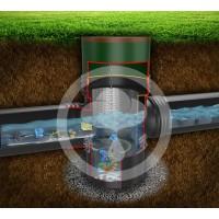 雨水收集预处理系统 高效弃流 自动排污 自动复位