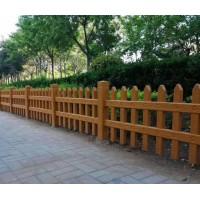 水浒建材仿木护栏江苏水泥仿树皮护栏公园安全栏杆户外围栏