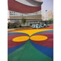 北京丰台区水性防滑路面 彩色陶瓷颗粒材料配比