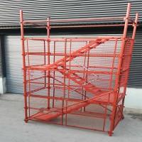 供应60管安全爬梯 挂网爬梯