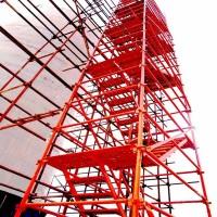 供应48管安全爬梯 建筑施工爬梯组装