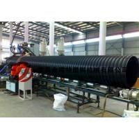 新型高速钢带增强缠绕波纹管生产线设备