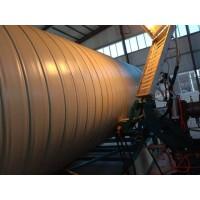 PPH立式缠绕储罐设备 PP无缝缠绕罐生产线
