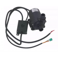 12V24V水泵 PWM调速直流无刷循环增压泵